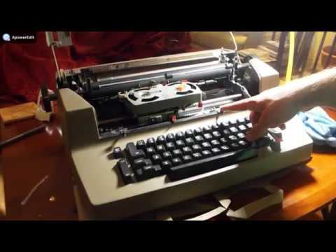 IBM Selectric Case Removal/Cleaning: FOUND HIDDEN TREASURES INSIDE!