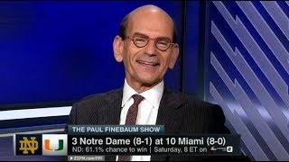 Notre Dame vs Miami 2017 Preview - The Paul Finebaum Show