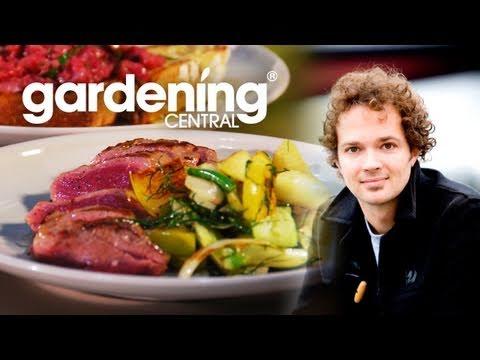 Tobie Puttock Recipe Lamb w/ Fennel & Apple Salad