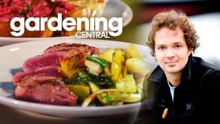 Tobie Puttock Recipe - Lamb W/ Fennel & Apple Salad