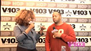 Jason Geter At The V-103 Hip Hop Conference With Ramona DeBreaux