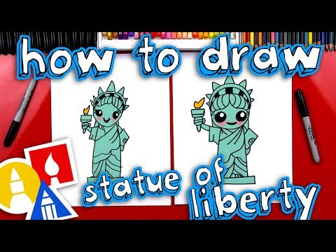 How To Draw The Statue Of Liberty🗽