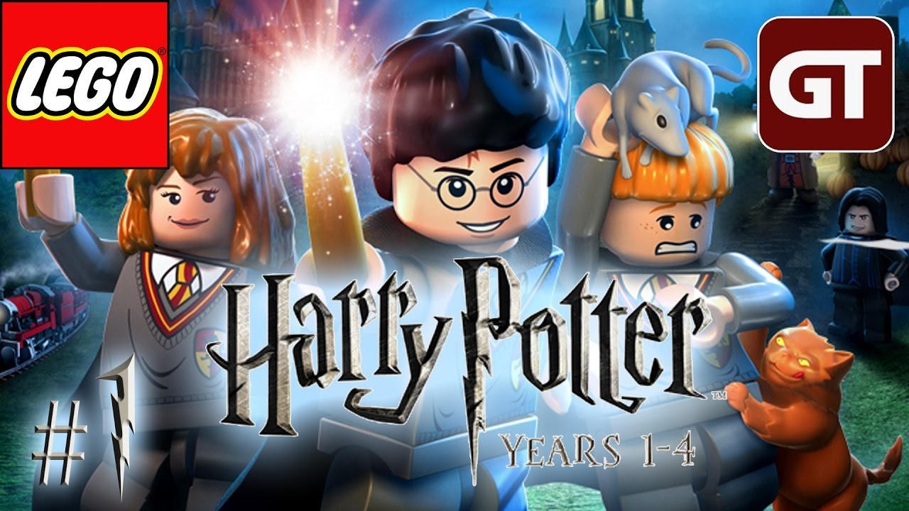Lego Harry Potter Years 1 4 Ps4 Gameplay 1 Lets Play Harry