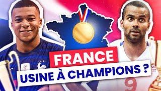 La France, une usine à champions ?