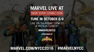 Marvel LIVE! at New York Comic Con 2016 - Day 1