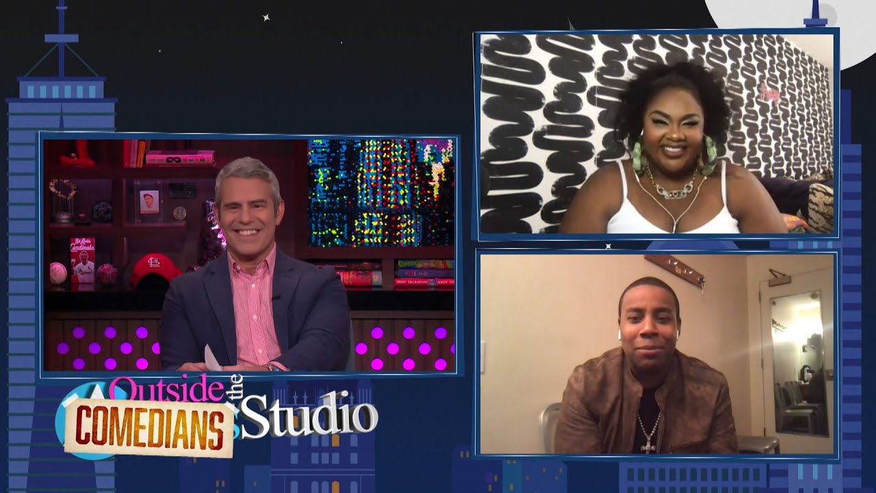 Outside the Comedians Studio with Kenan Thompson & Nicole Byer