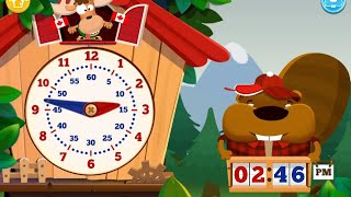 """Tic Toc Time Learn Clock """"Education Preschool Games"""" Android App Gameplay Video"""