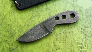 Knifemaking. How to make a neck knife by Pearce Knives.