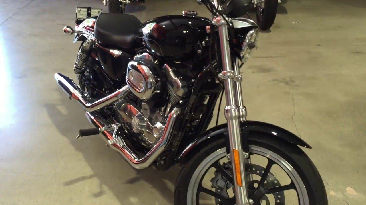 Harley Davidson 883 Superlow In Black At San Go H D