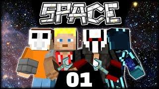 Neu zu viert | Minecraft Space Astronomy #01