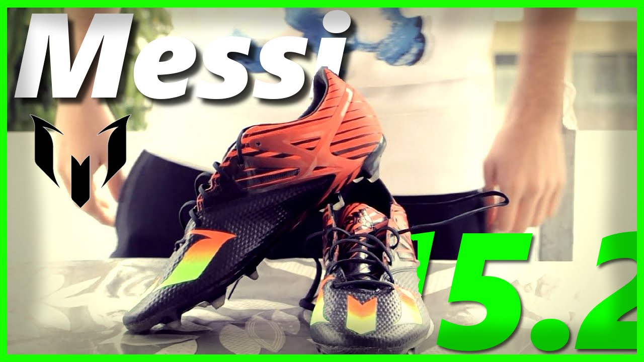 adidas MESSI 15.2 Review - YouTube 8c43c541f3ece
