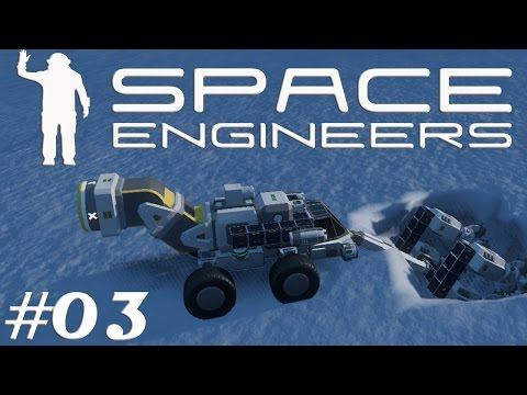 Let's Play Space Engineers S2E03 Mining Truck