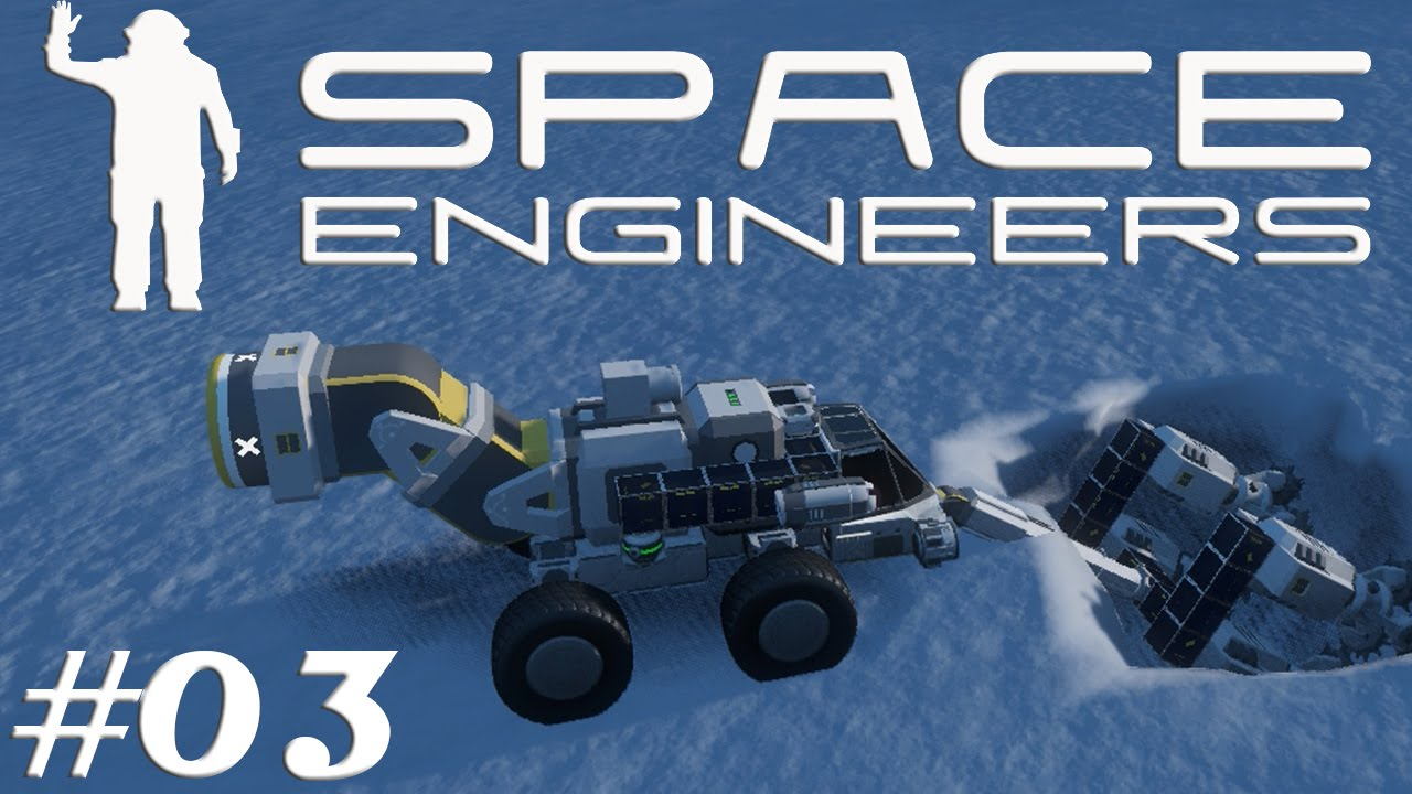 How To Build Land Vehicles On Space Engineers