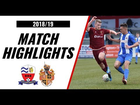 HIGHLIGHTS | Nuneaton Borough 0-2 Spennymoor Town | 2018/19