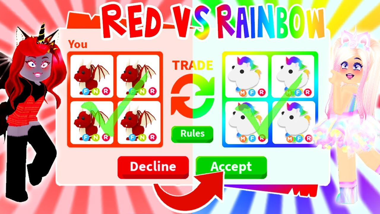 Getting The Most Rare Pets In A Trade In Adopt Me Roblox Youtube