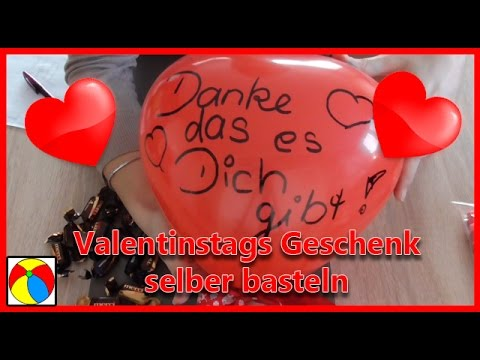 valentinstag geschenk selber machen geschenkideen diy basteln mit kindern youtube. Black Bedroom Furniture Sets. Home Design Ideas