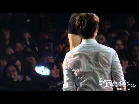 [海世代Onlyhae - HD] 120205 Super Show IV in Taipei - Playing game with water - Donghae main