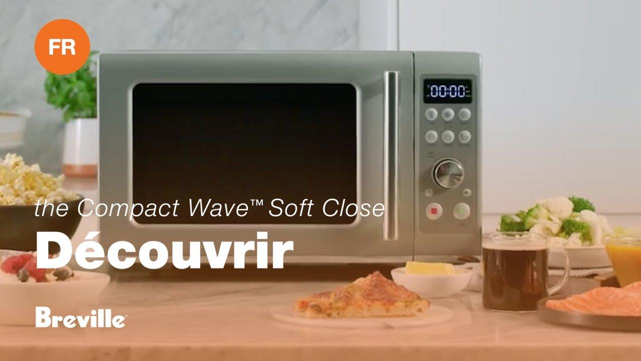 Le Compact Wave™ Soft Close – Réchauffer, Décongeler et Cuire dans un format compact