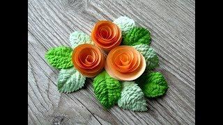 Розы из бумаги своими руками легко и просто. Roses from paper with their hands