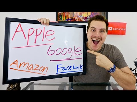 APPLE vs GOOGLE vs AMAZON vs FACEBOOK! Stock Market Battle!
