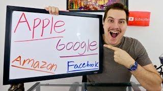 APPLE vs GOOGLE vs AMAZON vs FACEBOOK! Stock Market Battle!