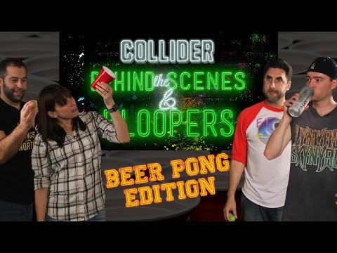 Beer Pong: Perri/Macuga vs. Ellis/Reilly - Collider Behind The Scenes & Bloopers