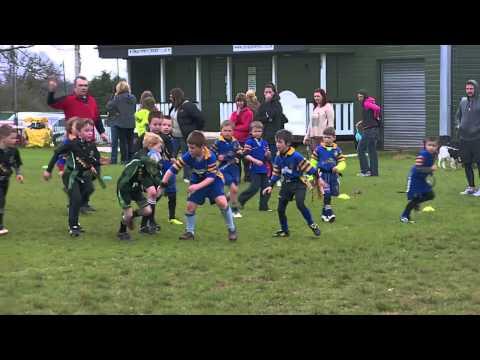 Llantrisant under 7s in Dinas Powys Triple Threat