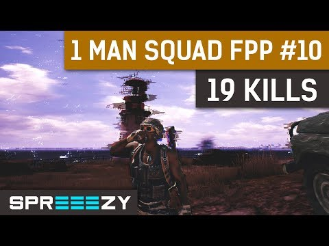 PUBG 1 Man Squad Game #10 | 19 Kills | M416 Chicken Delivery