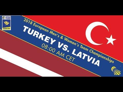 2018 EMTC Turkey - Latvia (Court 5)