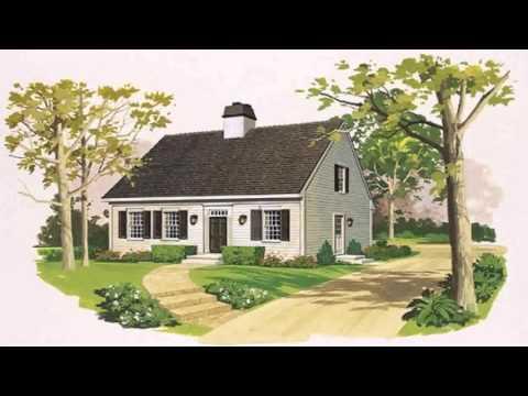 Cape Cod Style House Floor Plan