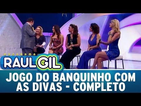 Programa Raul Gil (16/04/16) - Jogo Do Banquinho Especial