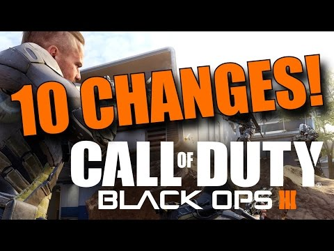 10 Changes Made To Black Ops 3! (Thanks to Fans!)