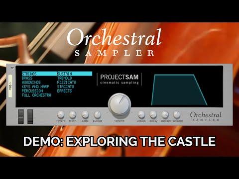 ProjectSAM Orchestral Sampler Rack Extension Demo - Exploring the Castle