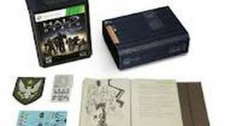 Halo Reach : Limited Edition Unboxing