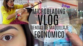 VLOGMICROBLADINGTIENDAS ECONOMICAS MAQUILLAJE Vanessa Surez