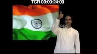 The National Anthem with Indian Sign Language