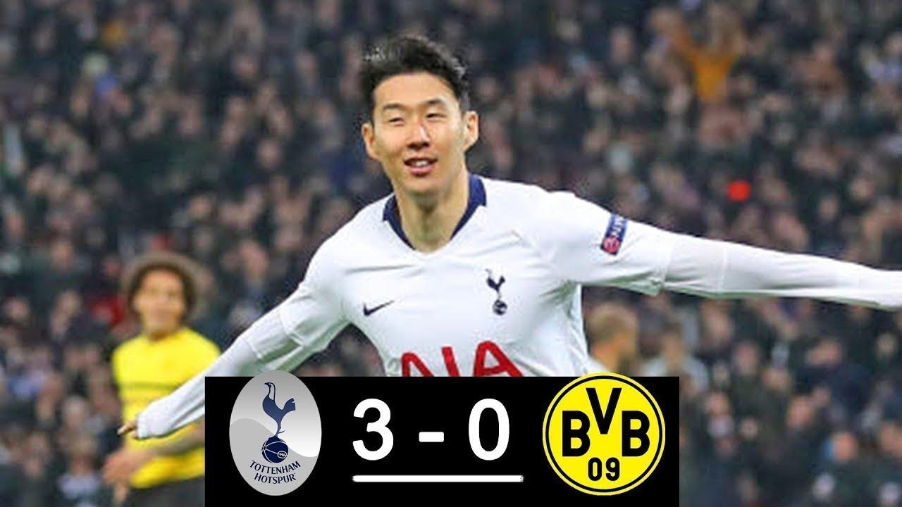 Dortmund Tottenham Highlights