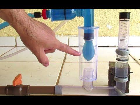Bomba Carneiro Diferente - Água Suja Bombeando Água Limpa