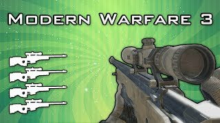 MW3: Quad Feed with Every Gun!
