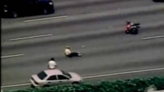 High Speed super bikes : Bad Highway crash