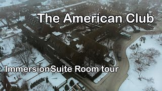 American Club Immersion Suite Room Tour | The American Club | Kohler, WI