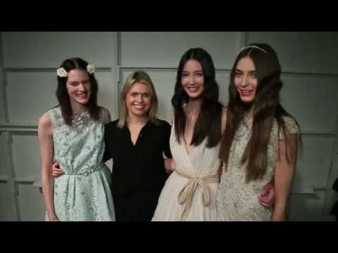 Backstage du défilé Jenny Packham 2016 - New York Fashion Week