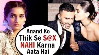 Sonam Kapoor Reveals SHOCKING Bedroom Secrets About Husband Anand Ahuja