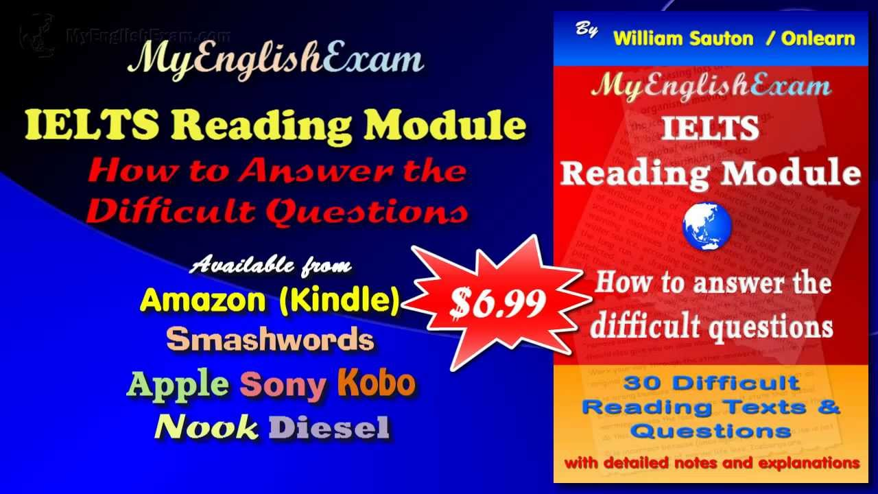 PDF IELTS Reading Module: How to Answer the Difficult Questions