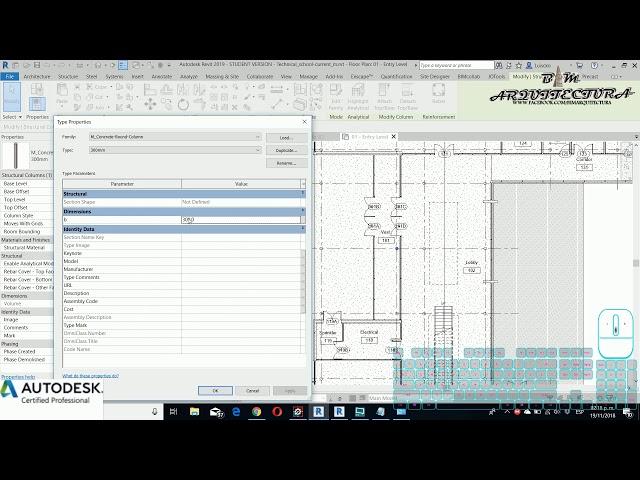 08 Información parámetros dentro de familias y unidades de proyecto