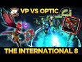 VP vs OPTIC - Amazing Series! Virtus Pro = Kings of Chat Wheel - Dota 2 #TI8