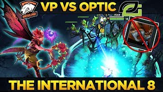 VP vs OPTIC - Amazing Series! Virtus Pro = Kings of Chat Wheel - Dota 2 #TI8