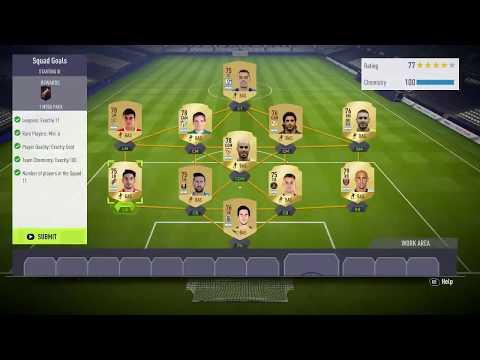 FIFA ULTIMATE TEAM  Hybrid League Squad Goals Sbc By Gaming Mafia