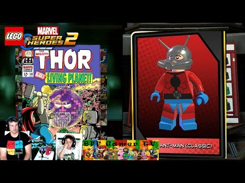 Unlock Ant-Man (Classic) - Lego Marvel SuperHeroes 2 / Collection The Road To Knowhere Free Play