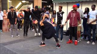 Crazy Street Dance Crew @ Oxford Circus, London (Part1)